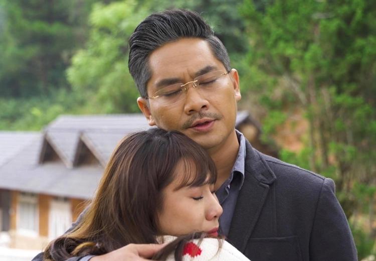 """Diễn viên Minh Luân và Hồ Bích Trâm vào vai cha con trong phim """"Lời nguyền lúc 0h"""""""